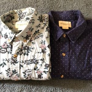 OBEY casual button downs
